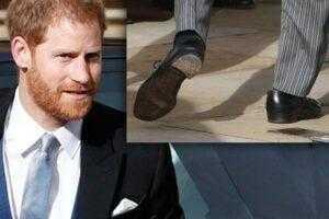 Почему британские принцы ходят с дырками в обуви