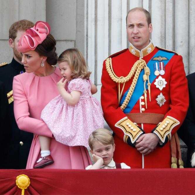 Принц Чарльз и принц Джордж удивительно похожи