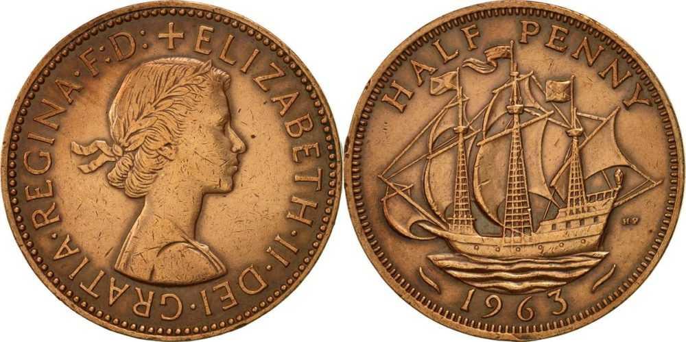 Легенды на монетах Елизаветы II