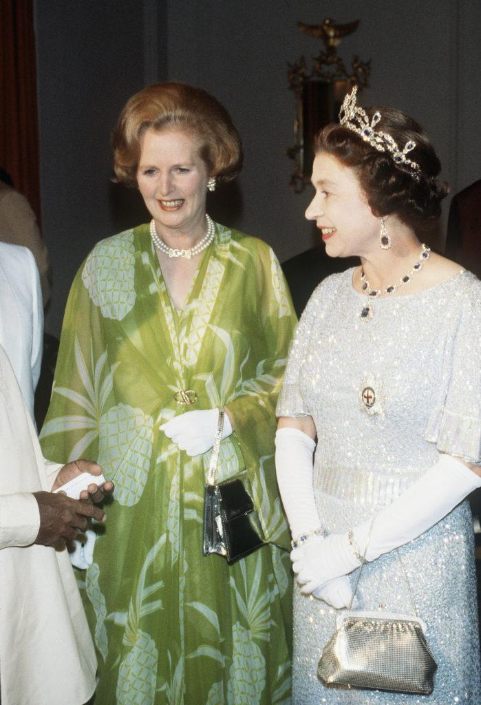 Стиль Елизаветы II и Маргарет Тэтчер
