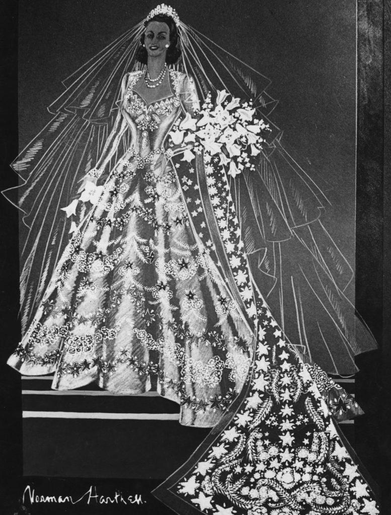 Свадебное платье принцессы Елизаветы
