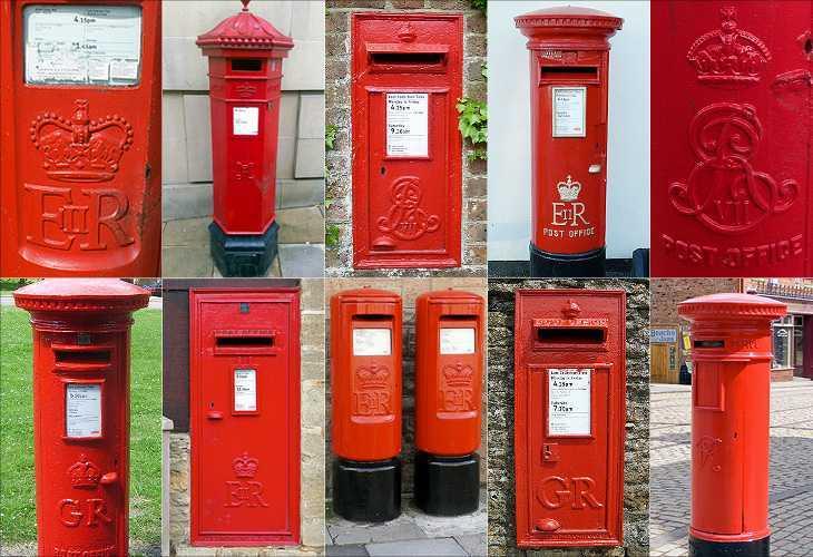 Милая английская традиция: почтовые ящики с королевским шифром