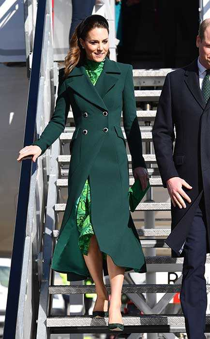 Наряды Кейт, герцогини Кембриджской в первый день ирландского тура