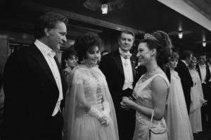 Принцессу Маргарет, Элизабет Тейлор и вульгарный бриллиант