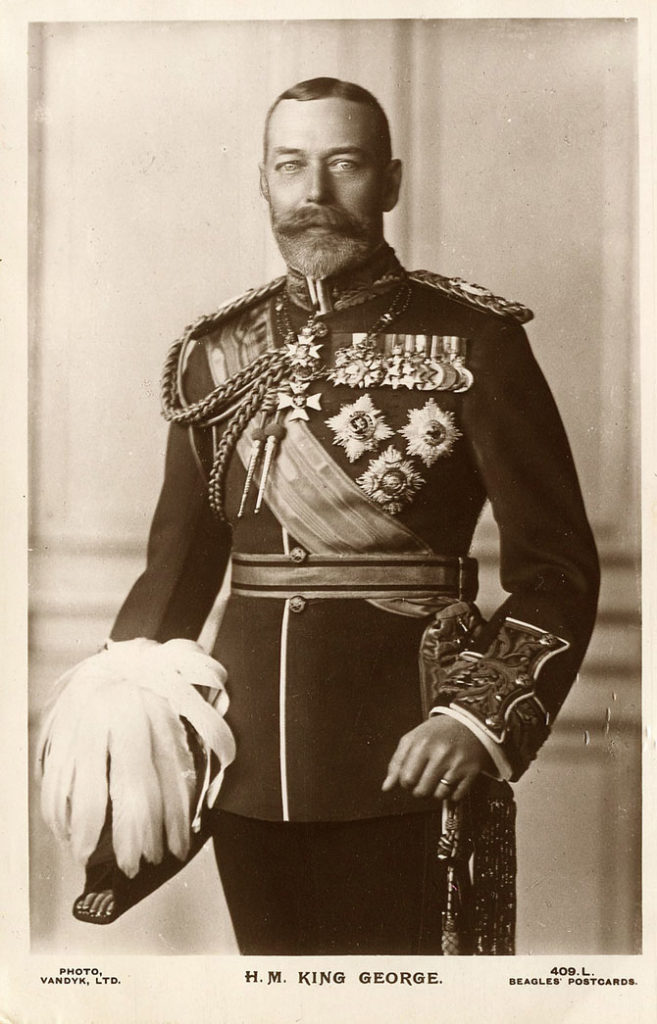 король Георг 5 забрал титул принца