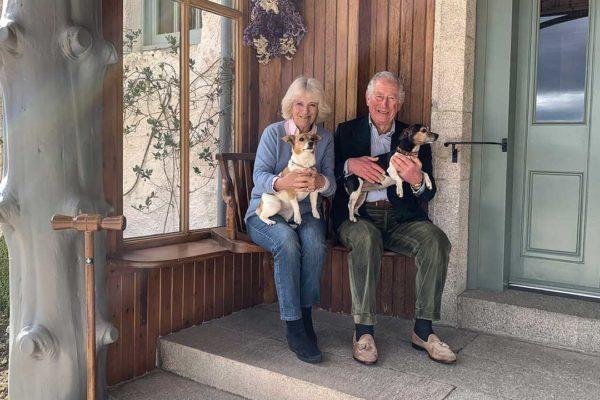 Новый официальный портрет принца Чарльза и Камиллы к 15-летию их свадьбы