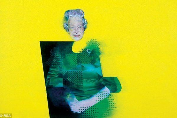 5 необычайно странных портретов королевы Елизаветы II