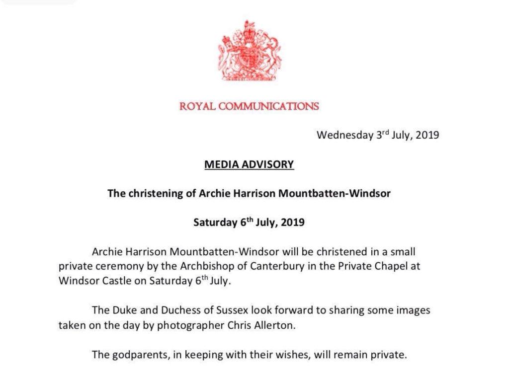 20 интересных фактов об Арчи Харрисоне Маунтбеттен-Виндзоре, сыне принца Гарри и Меган Маркл