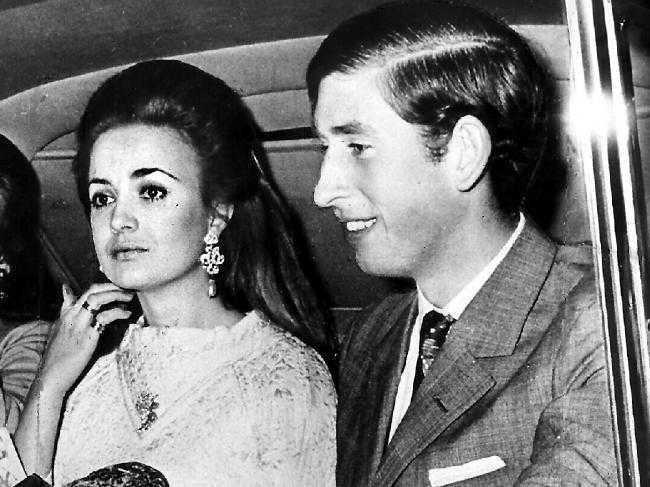 Лючия Санта Крус - первая любовь принца Чарльза и подруга Камиллы и Дианы