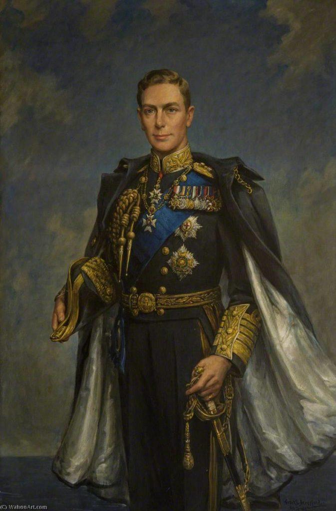 Георг VI. Фотография взята с сайта https://artsdot.com/