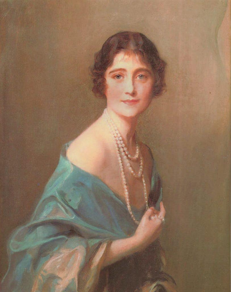 Елизавета Боуз-Лайон и ее мать (или не мать) Сесилия Нина Кавендиш-Бентинк // источник: wikipedia.org