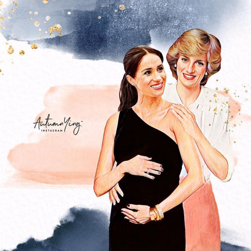 Почему Меган Маркл и принцесса Диана затмили своих супругов после присоединения к королевской семье?
