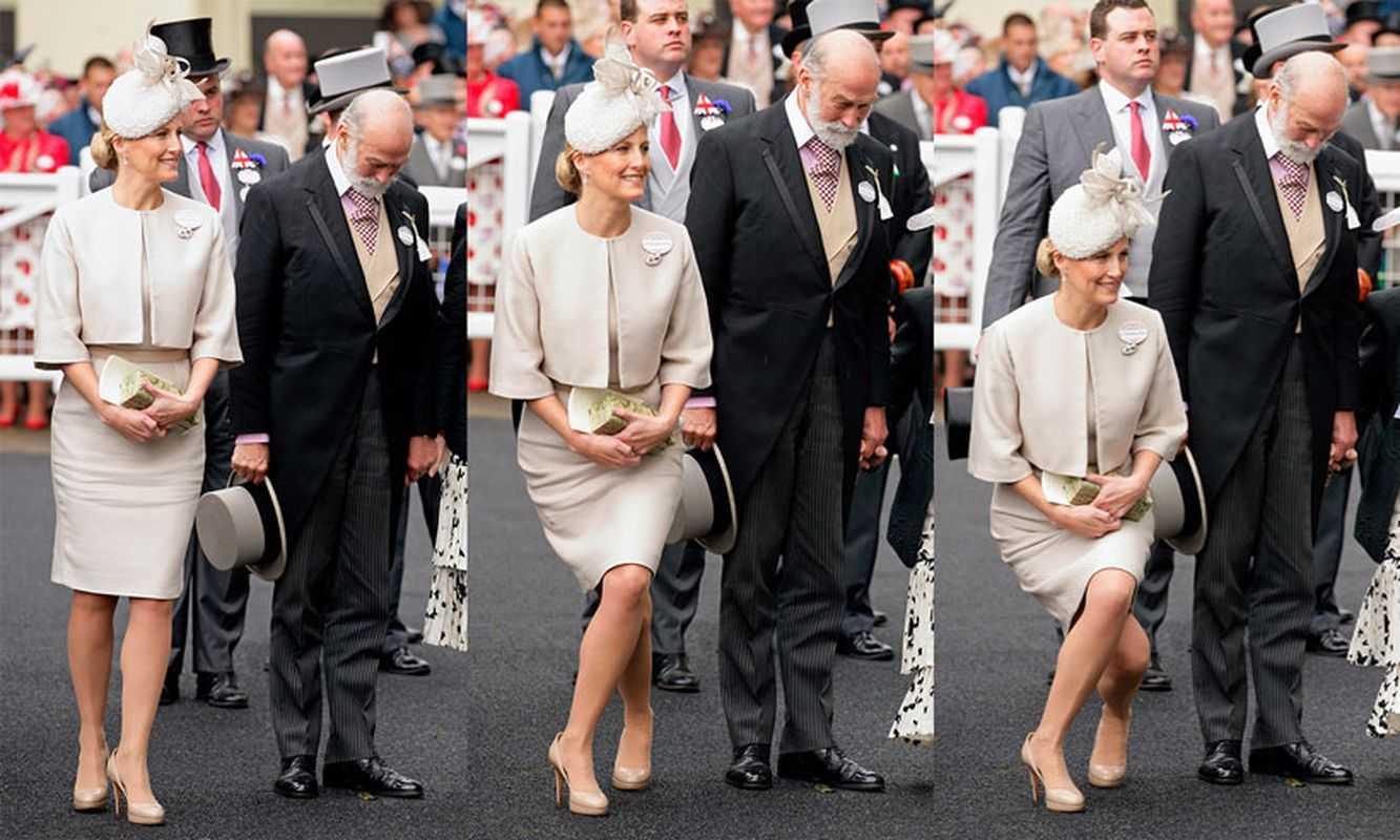 Реверанс в королевской семье