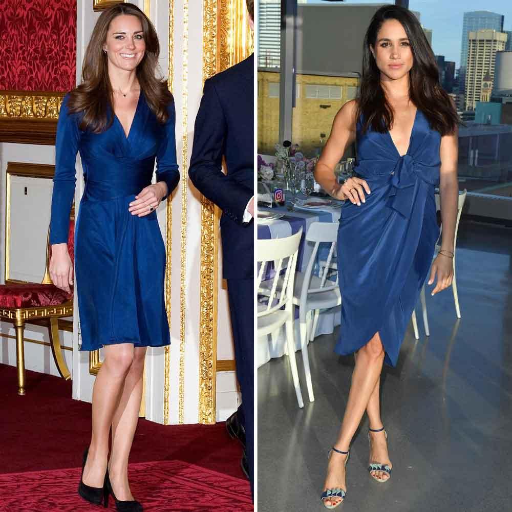 Герцогиня Меган хочет быть во всем непохожей на Кейт