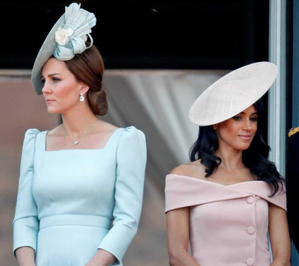 Меган Маркл удалила Кейт, герцогиню Кембриджскую из списка своих контактов