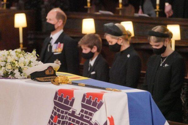 Члены королевской семьи отдали дань памяти принцу Филиппу