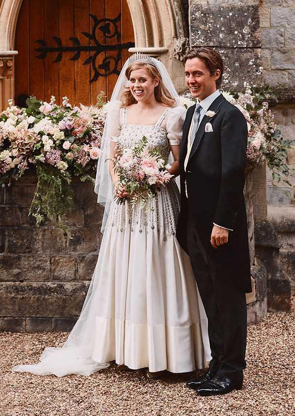 Свадебное платье, которое надела принцесса Беатрис