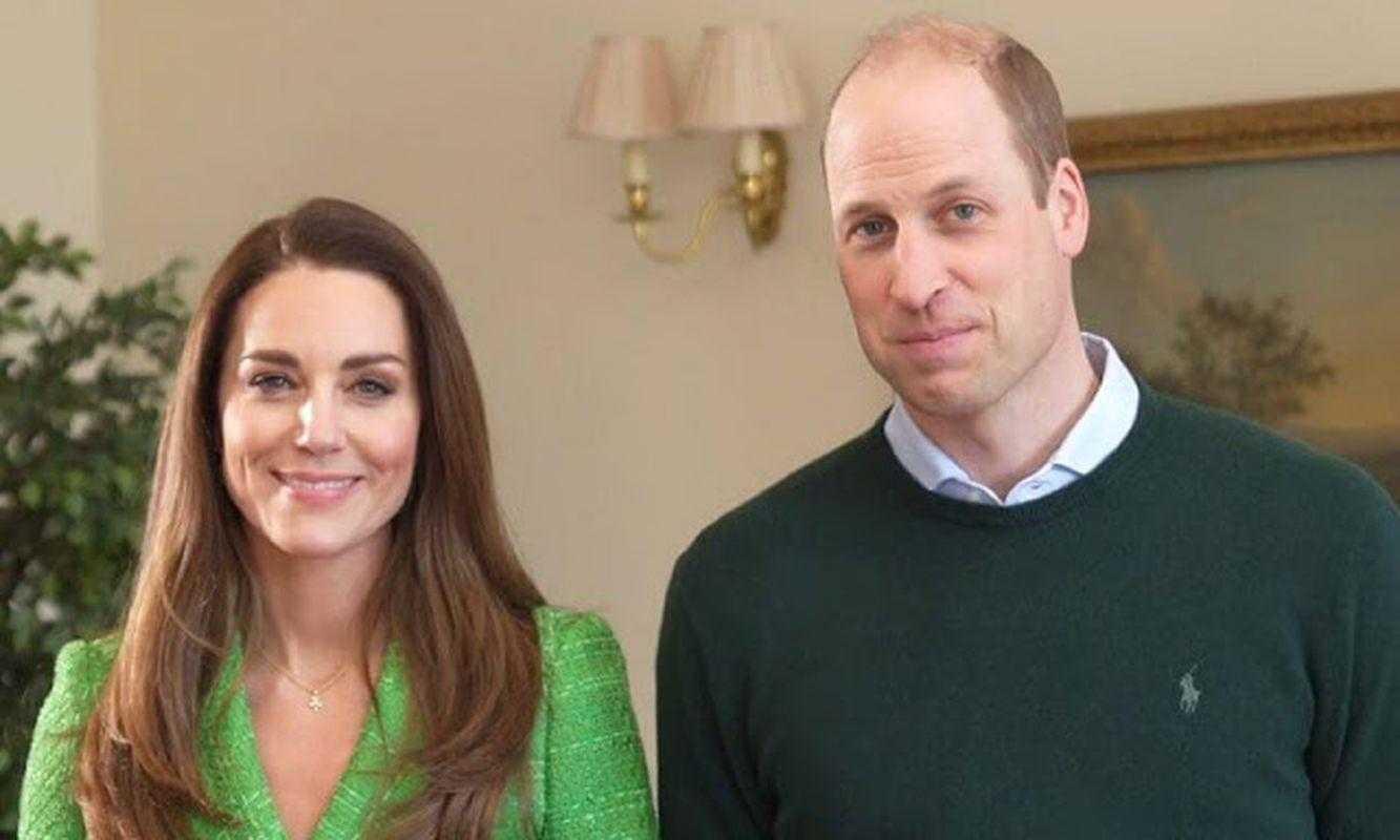 Герцог и герцогиня Кембриджские приняли участие в видеосъемке посвященной Дню Святого Патрика