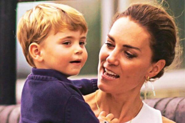 Принц Луи выглядит очень взрослым в свои три года