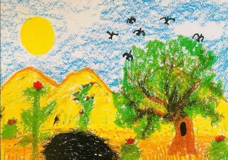 """Принц Джордж, Шарлотта и Луи нарисовали открытки для """"бабушки Дианы"""" в День матери"""