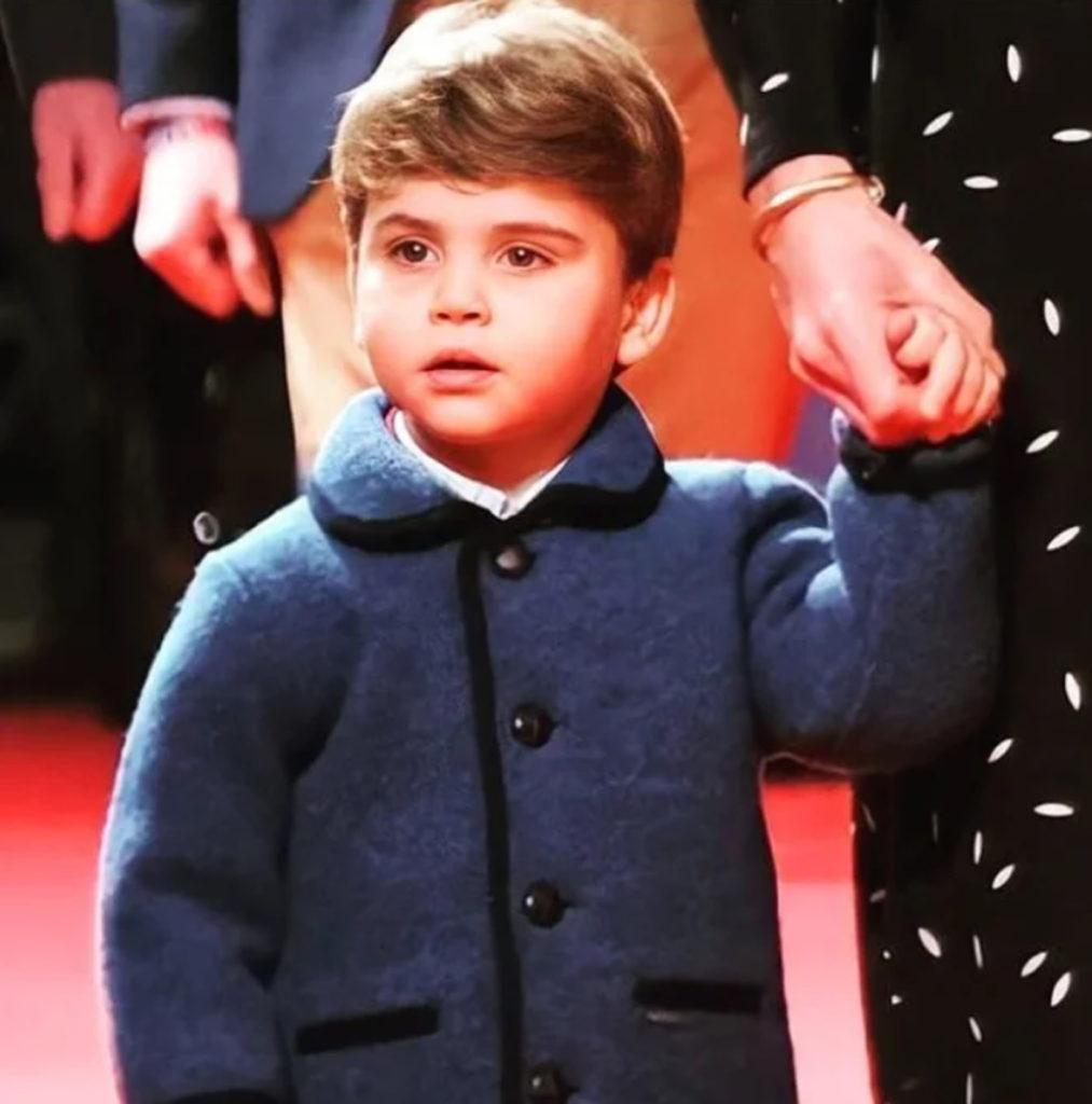 Принц Луи превращается в мини - версию отца Кейт Миддлтон