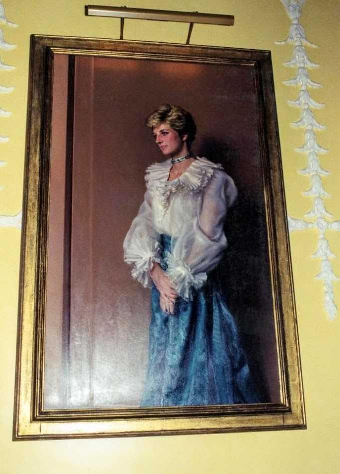 Как выглядела квартира принцессы Дианы в Кенсингтонском дворце