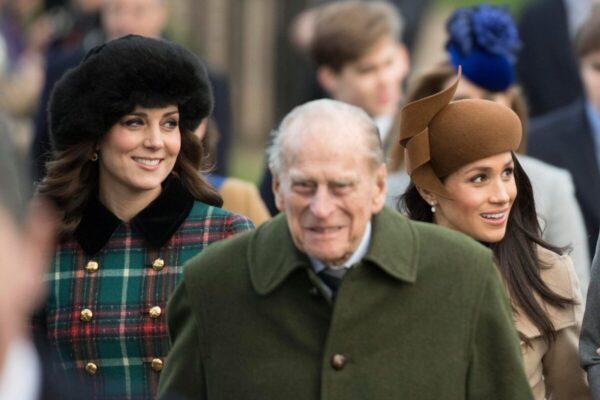 Как принц Филипп относился к Кейт Миддлтон и Меган Маркл