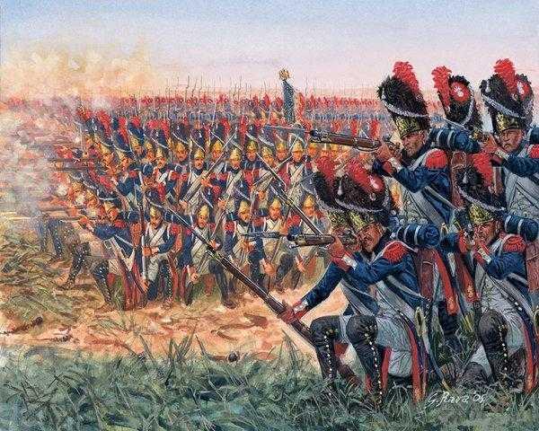 Меховые шапки королевских гвардейцев
