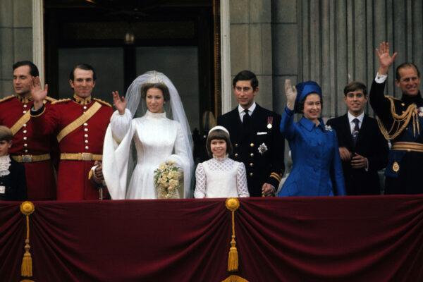 Чем интересная свадьба принцессы Анны и капитана Марка Филлипса
