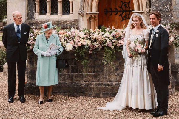 Первые официальные фотографии со свадьбы принцессы Беатрис