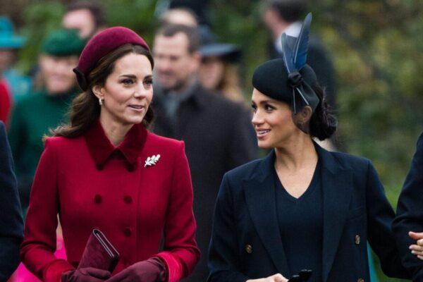 Королевская семья попросила Кейт Миддлтон больше общаться с Меган Маркл