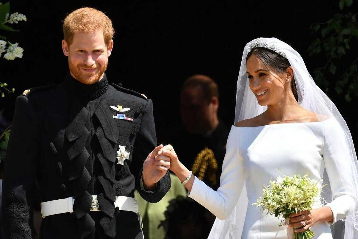 Британские СМИ запросили копию свидетельства о браке принца Гарри и Меган Маркл