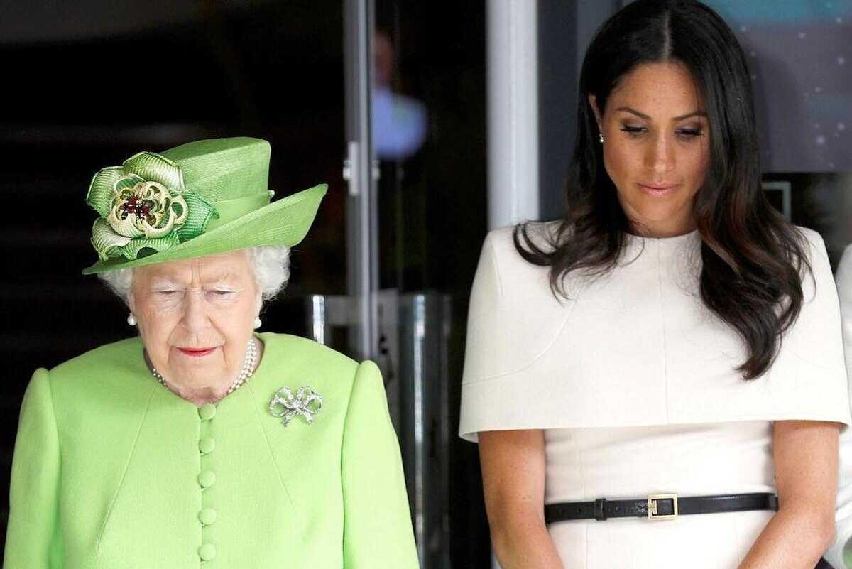 Меган Маркл с помощью Гейл Кинг пытается влезть в переговоры принца Гарри с дворцом