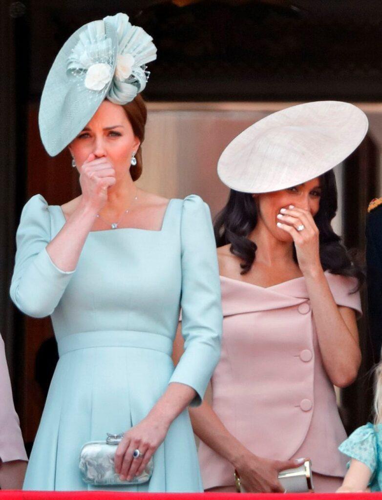 Как Кейт Миддлтон и Меган Маркл по-разному отреагировали на одну ситуацию